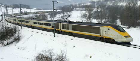 Eurostar Ski Train Tickets